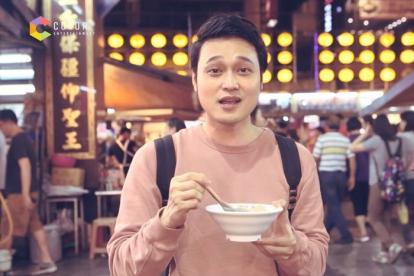 Quang Vinh 'lạc trôi' giữa thiên đường ẩm thực Đài Loan