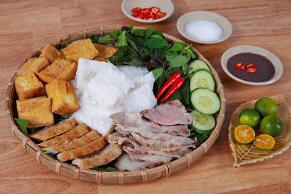 Bún đậu mắm tôm - món ngon Hà Nội