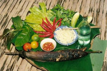 Cá lóc nướng - món ăn dân dã của miền Tây