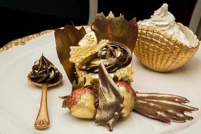 6 món ăn phủ vàng dành cho giới nhà giàu ở Dubai