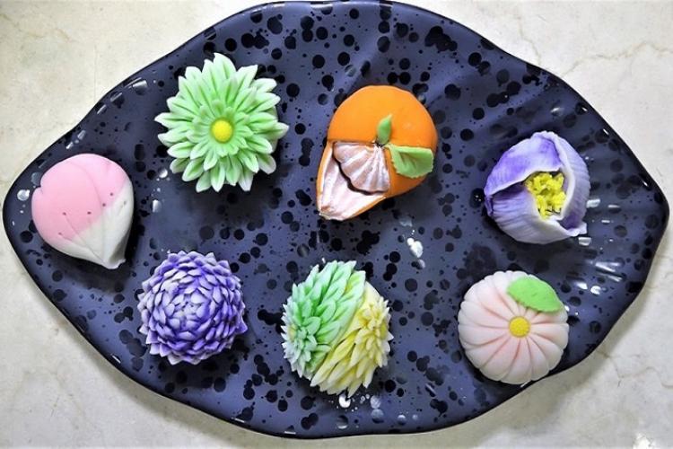 Nghệ thuật ẩm thực Nhật Bản trong chiếc bánh Wagashi